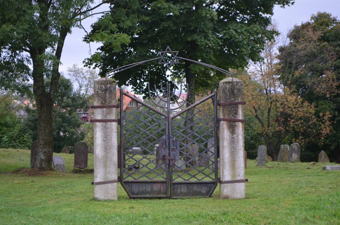 Gate of the Jewish Cemetery in Kretinga
